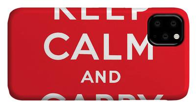 Keep Calm And Carry On iPhone Cases