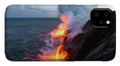 Volcanoes Photographs iPhone Cases