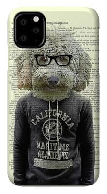 Labradoodle iPhone Cases