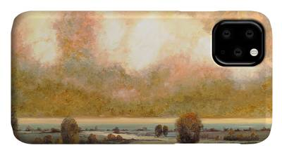 Pond Paintings iPhone Cases