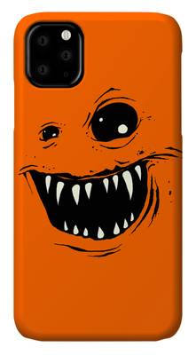 Red Eye Drawings iPhone Cases