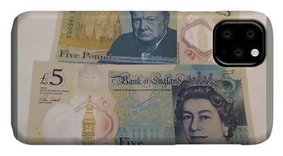 Photograph - New Five Pound Notes by Travel Pics