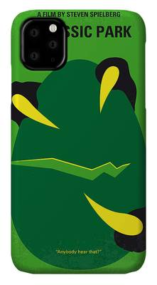 Jurassic Park Film Poster - feat Gennaro iphone 11 case