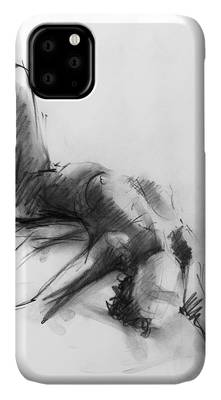 Figure Drawings iPhone Cases