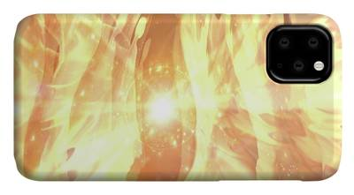 Calmness Digital Art iPhone Cases