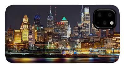 Philadelphia Skyline Photographs iPhone Cases