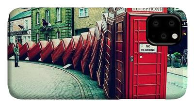 London Photographs iPhone Cases