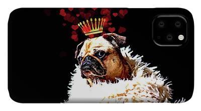 Pug DJ Dog Puppy French iphone case