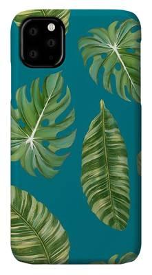 Beach Decor Mixed Media iPhone Cases