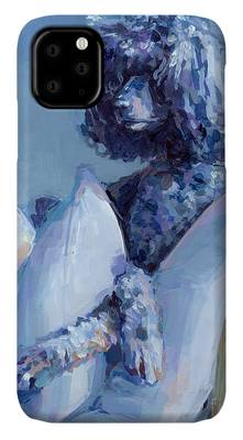 Poodle Paintings iPhone Cases