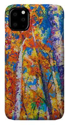 Impasto iPhone Cases