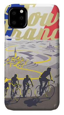 Cyclist iPhone Cases