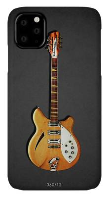 Guitar Photographs iPhone Cases