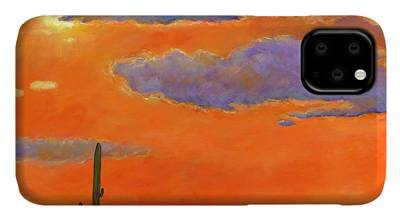 Cloudy Paintings iPhone Cases