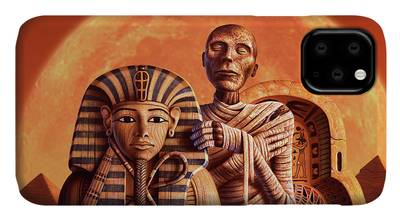 Pyramid Paintings iPhone Cases