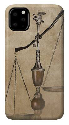 Scale Of Justice iPhone Cases