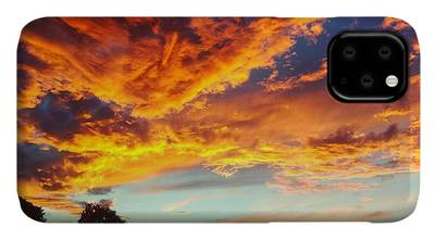 Sunset Digital Art iPhone Cases