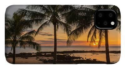 Hawaiian Sunset Photographs iPhone Cases