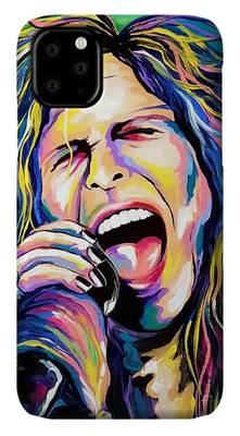 Music Steven Tyler Rock And Roll iPhone Cases