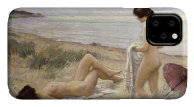 Undressed Paintings iPhone Cases