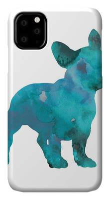 Designs Similar to Teal Frenchie Abstract Painting