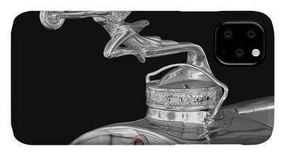 1939 Packard Super 8 Hood Ornament Goddess Of Speed Emblem Vintage Car Patent