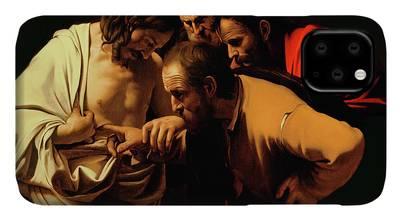 Caravaggio Paintings iPhone Cases