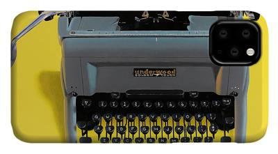 Typewriter iPhone Cases