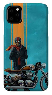 Cafe Racer iPhone Cases