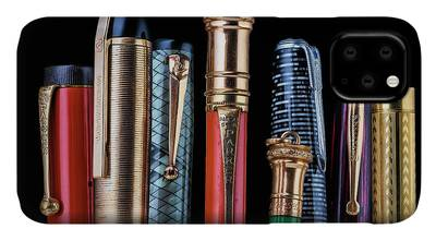 Fountain Pen iPhone Cases