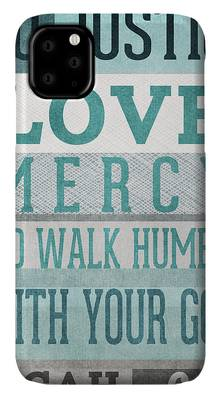 Christianity Mixed Media iPhone Cases