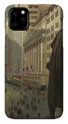 Wall Street Bull iPhone Cases