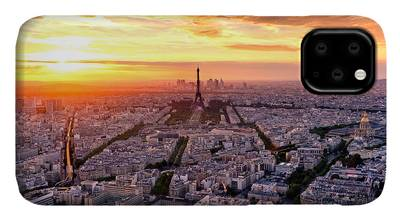 Designs Similar to Aerial View Of Paris At Sunset
