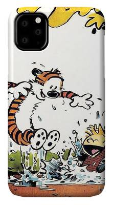 Calvin and Hobbes Daily Comic Strip iphone case