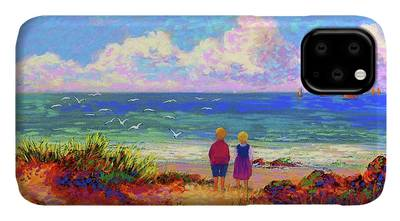 Maine Coast Paintings iPhone Cases