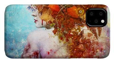 Compassion Digital Art iPhone Cases
