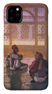 Fatehpur Sikri Paintings iPhone Cases