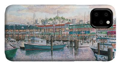 Fishermans Wharf iPhone Cases