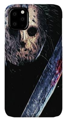 FRIDAY THE 13TH - Bloody Mask iphone 11 case