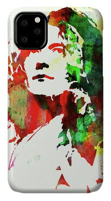 Robert Plant Rock And Roll iPhone Cases