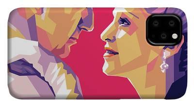 Evita Digital Art iPhone Cases