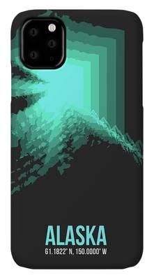 Misty Conifers - Juneau Alaska iphone 11 case