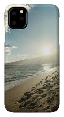 Beach Sunset iPhone Cases