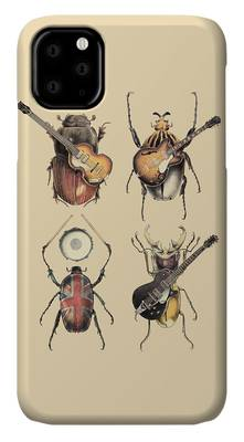 Drums Rock And Roll iPhone Cases