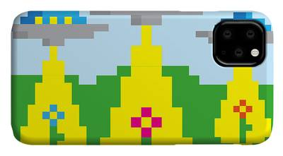 Pixelart Digital Art iPhone Cases