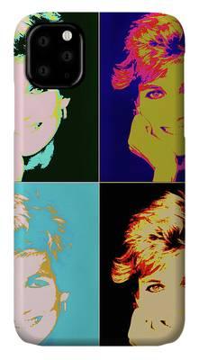 Lady Di Iphone Cases Fine Art America