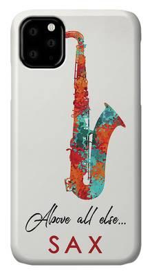 Musical Theme Digital Art iPhone Cases