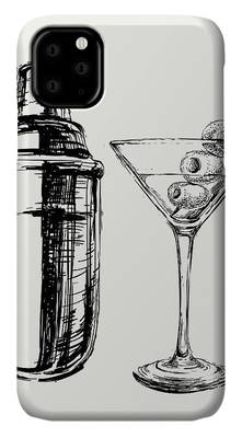 Martini Shaker iPhone Cases