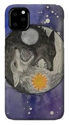 skoll - watercolor iPhone 11 case