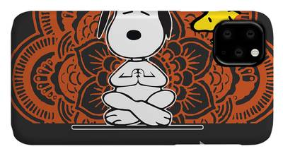 snoopy peanuts Funny Dog iphone case